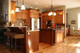 furniture interactive kitchen design ideas with oak exotic wood