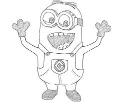 despicable minions coloring pages coloring pages