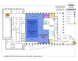 Tcu Map Tcu Place Saskatoon U0027s Arts U0026 Convention Centre Floor Plans