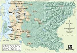 seattle map by county maps king county