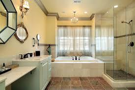 Bathrooms With Dark Floors Designs - White cabinets dark floor bathroom