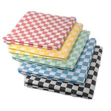hamburger wrapping paper online shop hot 24pcs black sandwich wrapping paper checkered wax
