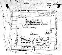 mission san diego de alcala floor plan san diego presidio american latino heritage a discover our