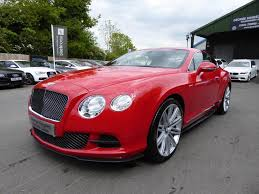 bentley coupe red used 2012 bentley continental gt speed very high specification