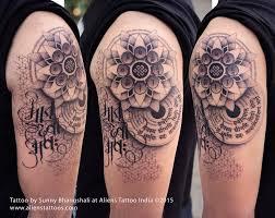 tattoo old school mani dotwork mandala tattoo by sunny bhanushali at aliens tattoo india