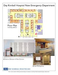 emergency room floor plan day kimball healthcare exceeds fundraising goal for new emergency