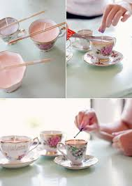 tea cup candles diy vintage teacup candles rhiannon bosse