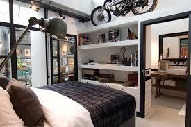 chambre style loft industriel loft industriel vintage