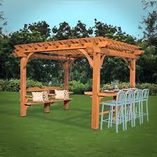 outdoor pergola kits backyard arbor pictures gazebo 30409