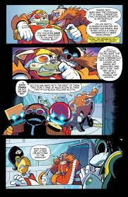 the sonic comic is actually pretty good you guys