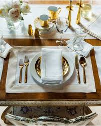 Dining Room Table Placemats by Luxury Table Linens Wedding And Fine Dining Linens Sferra