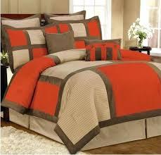 Red And Grey Comforter Sets Livingston Orange And Grey Comforter Set Orange And Grey Comforter