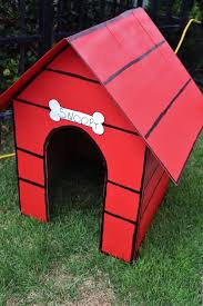 brown christmas snoopy dog house snoopy s dog house from a peanuts brown birthday party