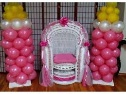 baby shower chair decorations how to decorate a chair glassnyc co