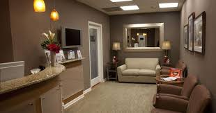 Brown Arm Chairs Design Ideas Small Office Reception Area Design With Half Circular Desk And