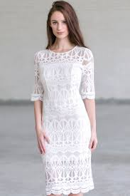 ivory lace midi dress ivory lace dress lace rehearsal