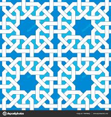 islamic geometric pattern turkish ornament traditional