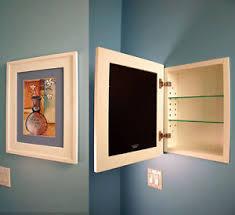 picture frame medicine cabinet recessed medicine cabinet w picture frame door no mirror white