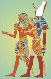 king tut and horus stencil designs from stencil kingdom