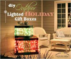 diy lighted outdoor christmas decorations lighted outdoor christmas decorations home depot lovely diy outdoor