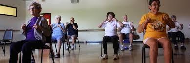 Armchair Yoga For Seniors Senior Exercise Ymca Of Southern Arizona