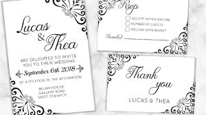 wedding invitations rsvp diy make your wedding invitations rsvp thank you cards i