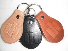 handmade international harvester key fob ring by hambones custom