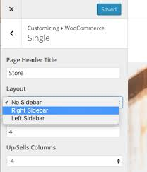 right sidebar add sidebar to woocommerce products total theme