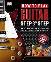how to play guitar step by step book u0026 dvd u2013 rom amazon co uk