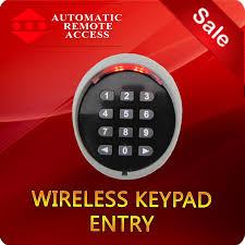 garage door key lock ara garage door and gate wireless keypad entry 433 mhz