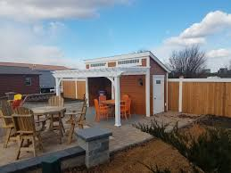 Pergola Lounge Nyc by Custom Vinyl U0026 Wood Pergolas For Patio U0026 Garden Homestead Structures