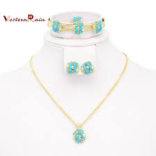 childrens gold jewelry 2018 best gift for your girl gold plated pink amp blue