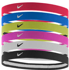 sport headbands nike swoosh sport headbands 6 pack multi color soccer wearhouse