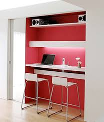Modern Desks Small Spaces Home Office Contemporary Design Using Big Concepts For Small Spaces