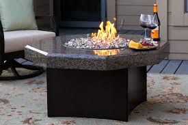 Patio Fireplace Table Octagon Fire Pit Granite Fire Table Patio Fire Pit Table