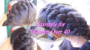 hairstyles for women over 40 hairstyles for older women youtube