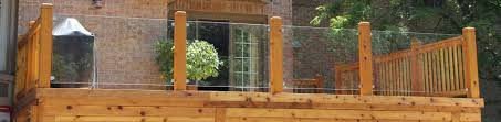 Glass Patio Fencing How Much Will You Spend To Build A Deck A Comparative Cost Study