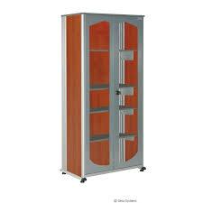 armoire rangement bureau armoire visuelle 5s office a avec 2 étagères l 930 x p 550 x h 970