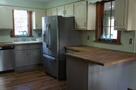Distressed Painted Kitchen Cabinets Distressed Kitchen Cabinets With Chalk Paint Kitchen Decoration