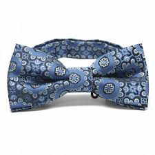 what is floral pattern in french men s french blue emma floral pattern band collar bow ties