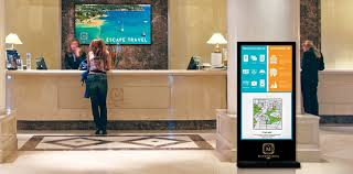 hotel entrances why panasonic digital signage solutions
