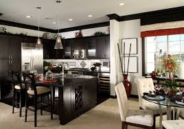 paint colors for kitchen walls with dark cabinets home exitallergy