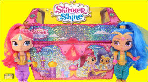shimmer and shine genie treasure chest surprise genie toys opening