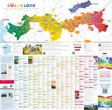 Loire Valley France Map by Val De Loire Wine Map