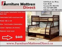 Bunk Beds Calgary Calgary Sale Detachable Solid Wood Bunk Bed Sale