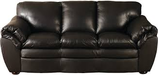 Leather Couches Black 100 Genuine Leather Sofa The Brick