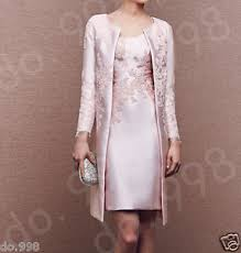 pink lace mother of the bride dresses formal coat with long