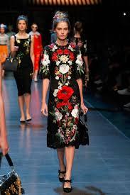 dolce gabbana floral lace dress