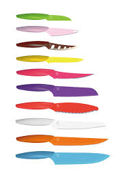 gela cutlery multi color knives set of 10 have you ever used