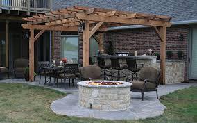 Flagstone Patio With Pergola Landscapeonline Design U2022 Build U2022 Maintain U2022 Supply
